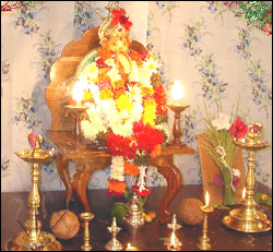 puja at home
